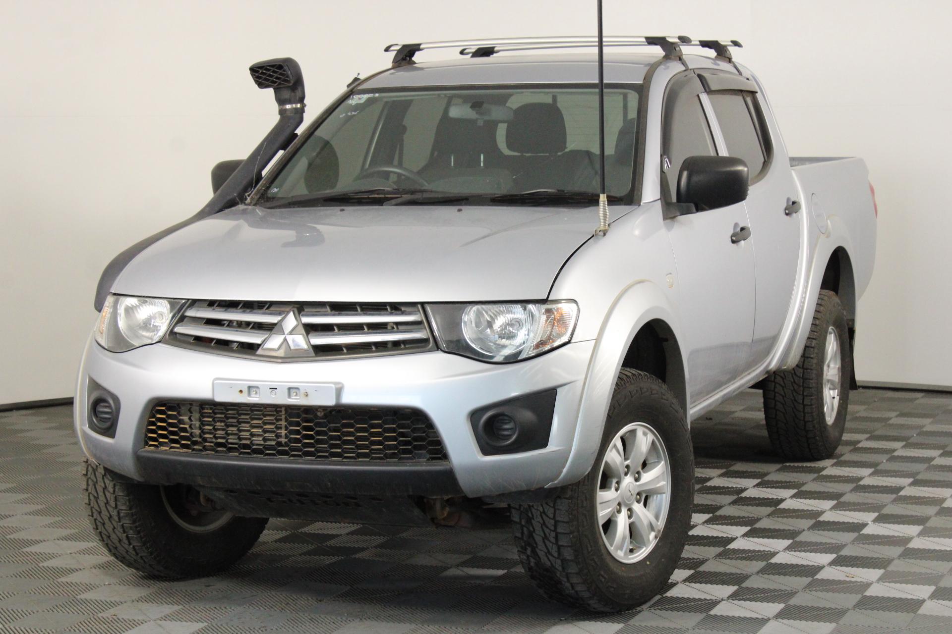 2015 Mitsubishi Triton GLX (4x4) MN Turbo Diesel Manual Dual Cab