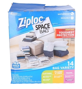 ZIPLOC Compression Space Bag Variety Box