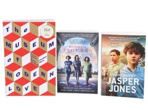 3 x Paperback Novels; ``Hidden Figures``