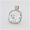 Sterling Silver Zirconia pendant