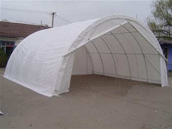 3x Storage Shelter 7.6m (L) X 7.9m (W) X 3.66m (H)