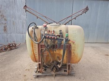 Silvan Hydraulic Spray Boom Tractor Attachment