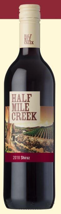 Half Mile Creek Shiraz 2018 (12 x 750mL) SEA