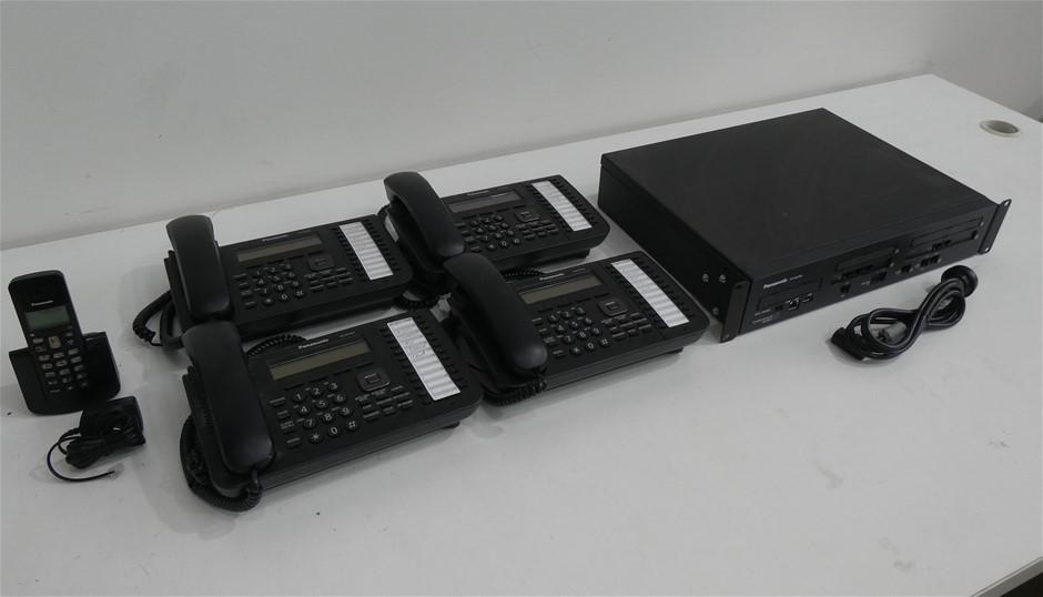 Carton of Used Panasonic Telco Stock