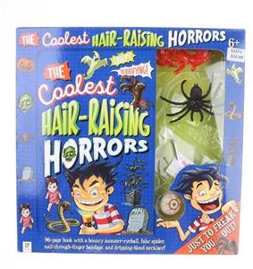 6 x The Coolest Hair Raising Horror Kits