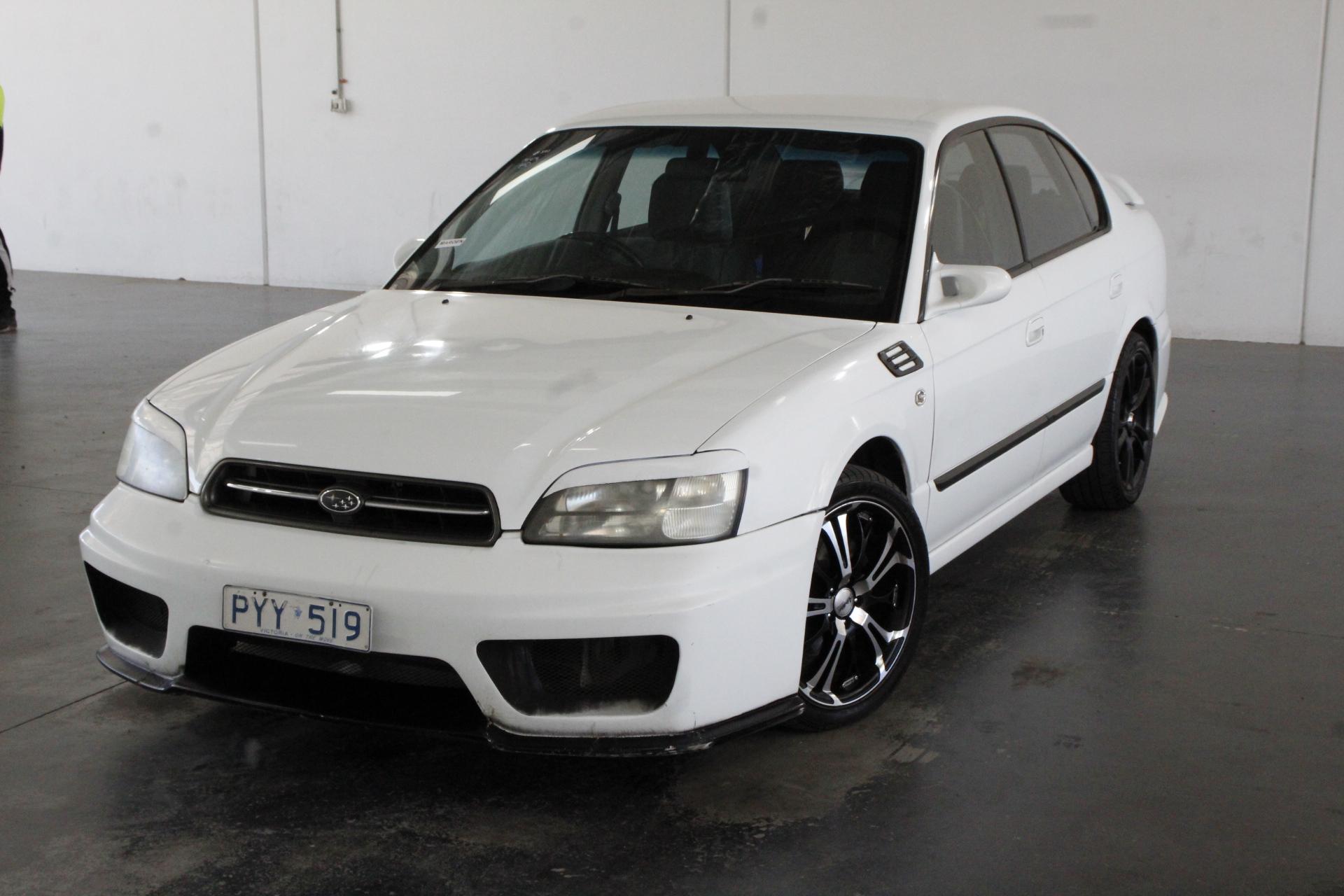 2000 Subaru Liberty RX B3 Manual Sedan