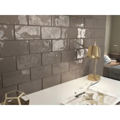 Estudio Ceramica Trendy Clay Glossy 12.5x25cm Ceramic Subway Tiles, 6.875m²