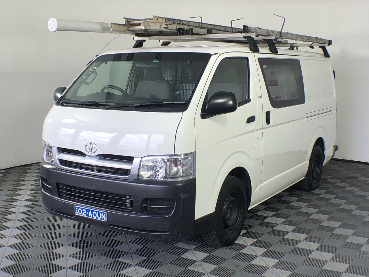 2005 Toyota Hiace LWB KDH200R Turbo Diesel Manual Van