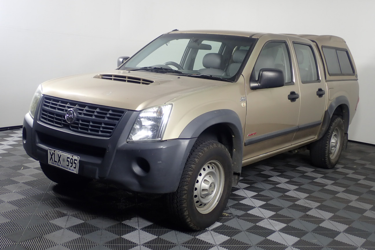 2007 Holden Rodeo LX 4X4 TD RA Turbo Diesel Automatic Dual Cab