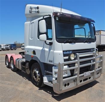 2011 DAF CF7585 6x4 Prime Mover