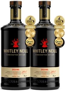 Whitley Neill Original Gin (2x 700mL). U