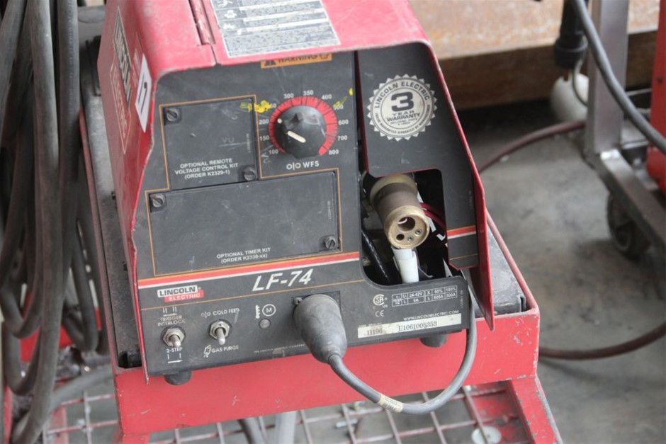 Lincoln Electric IDEALARC VC500 Mig Welder Auction (0017 ...