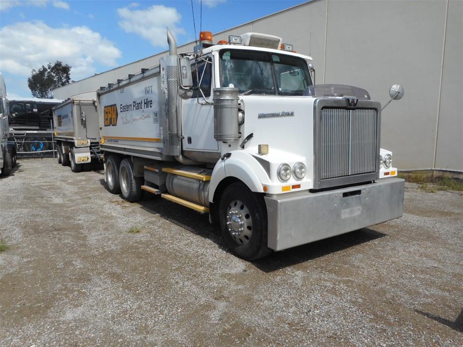2010 Western Star 4800FX 6 x 4 Tipper Truck
