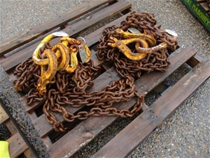 Qty 2 x Bullivants Lifting Chains