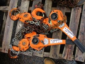 Qty 2 x Oz Mechanical WLL 6T Lever Chain