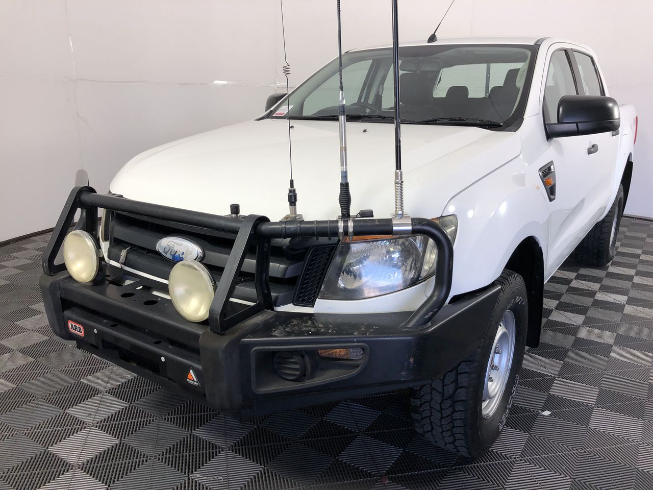 2012 Ford PX Ranger 3.2 T/Diesel Auto 4WD (Service History)