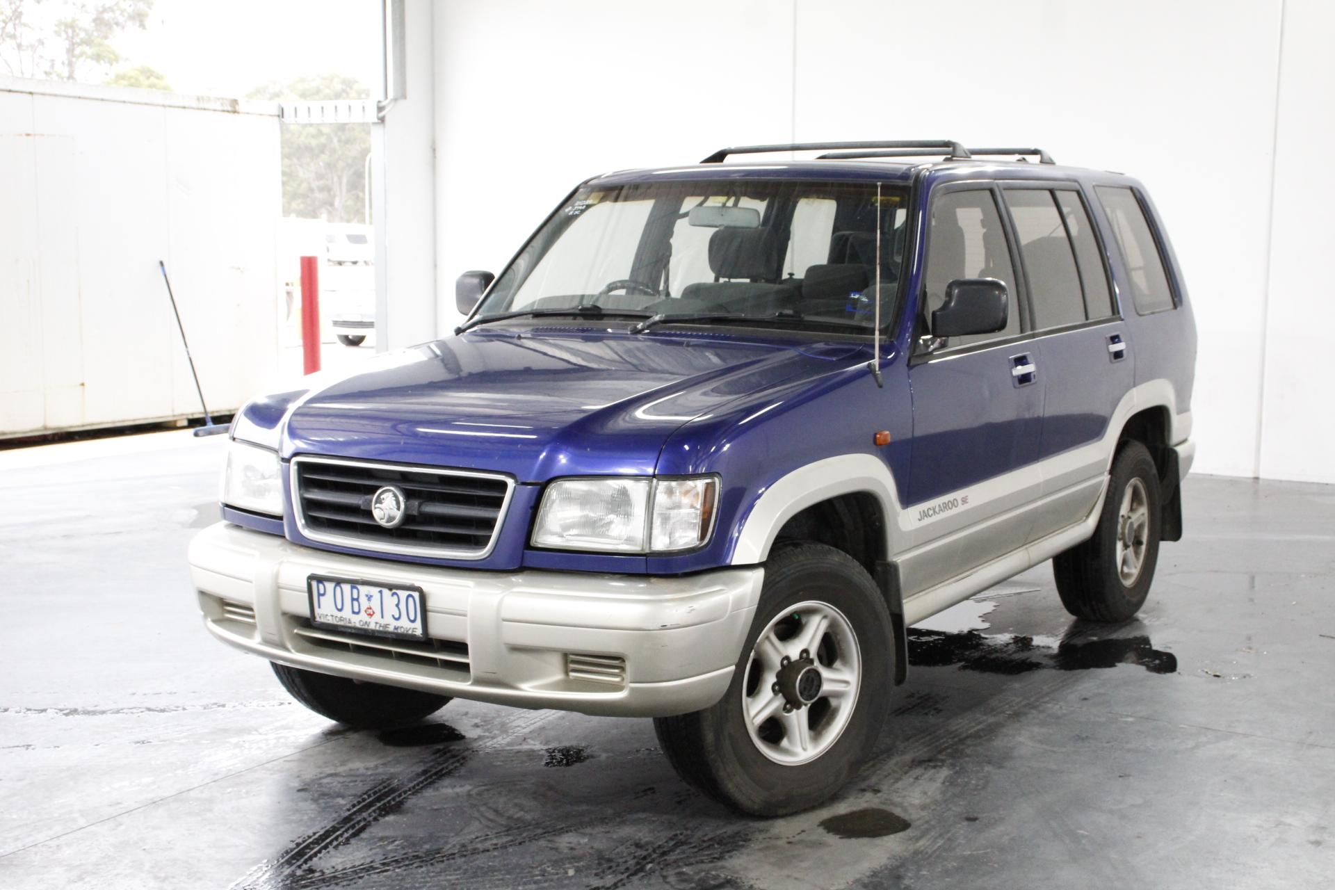 1999 Holden Jackaroo SE LWB (4x4) Automatic 7 Seats Wagon