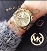 New MichaelKors dual time chronograph classy ladies watch