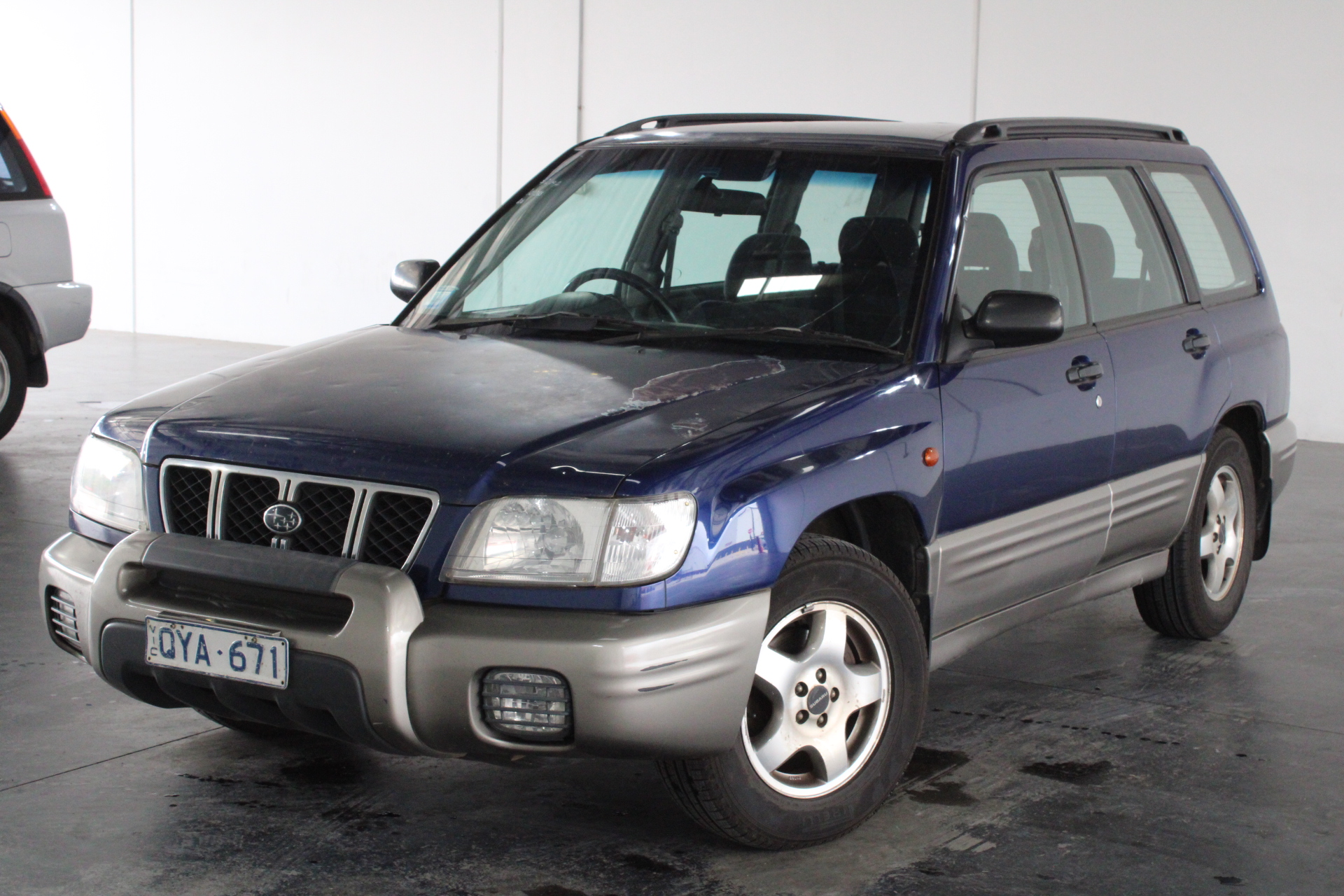 2001 Subaru Forester Limited Manual Wagon