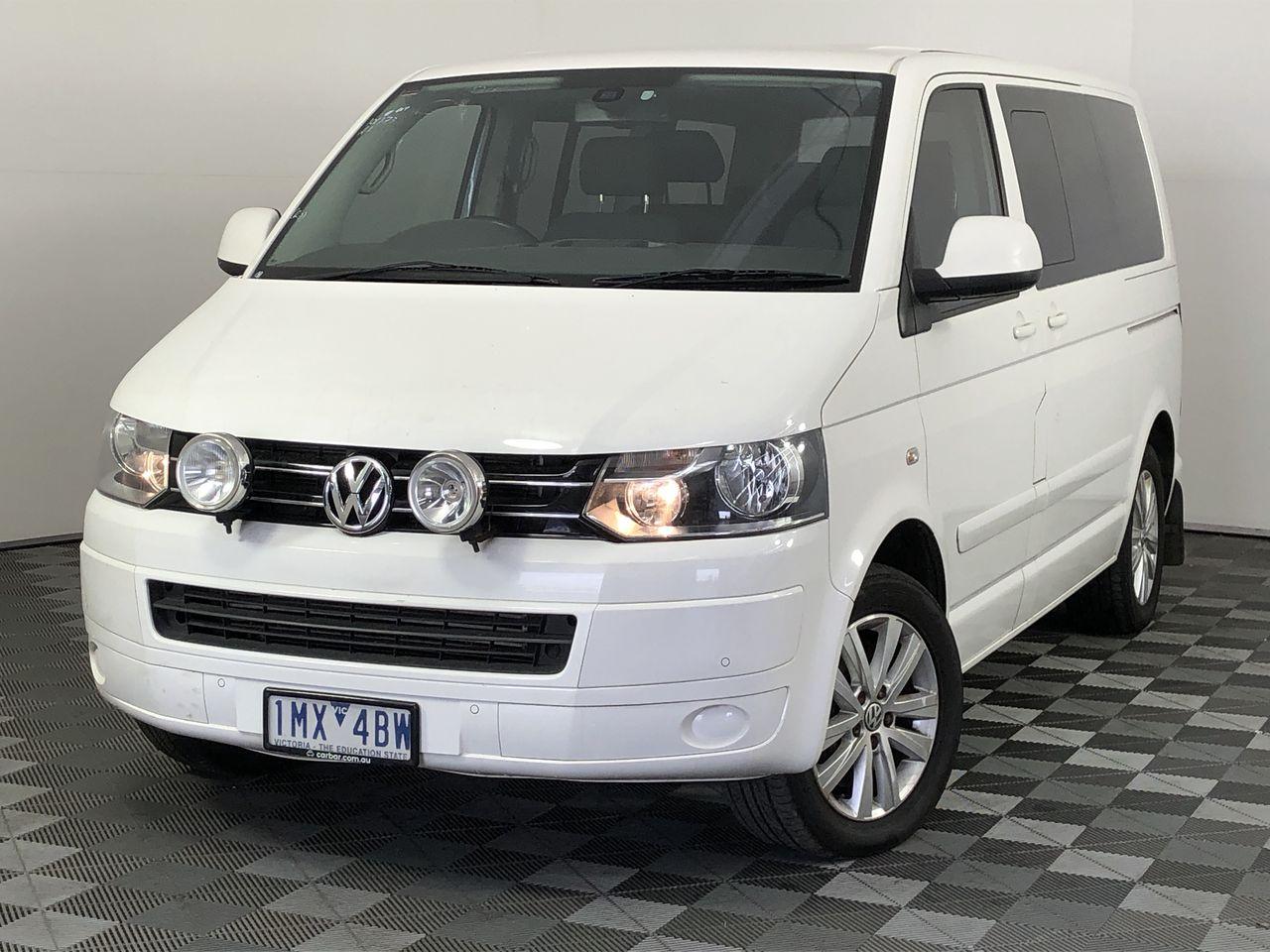 2013 Volkswagen Multivan COMFORTLINE TDI400 T5 T/D Auto 7 Sts People Mover