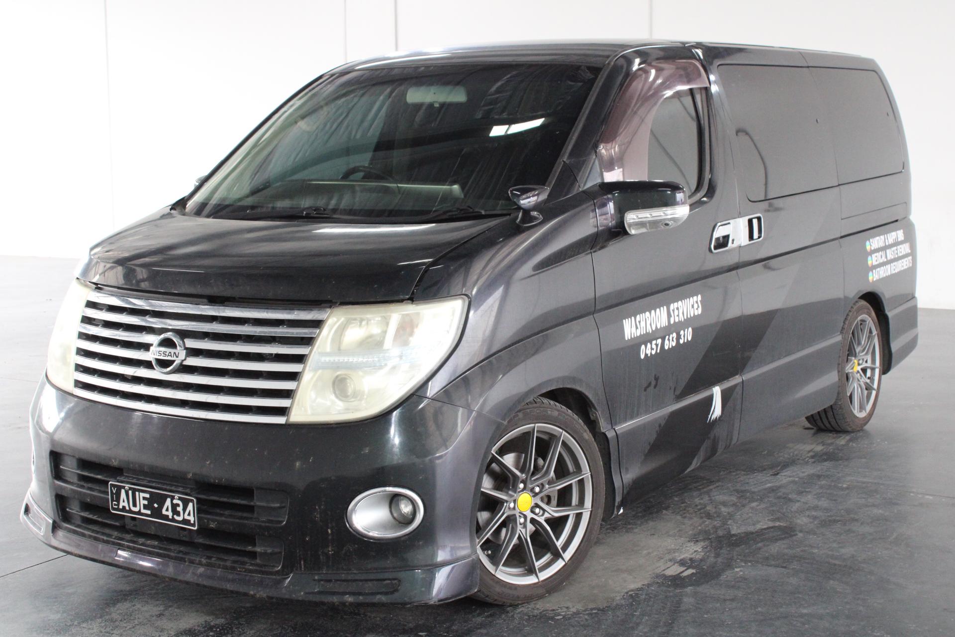 2007 Nissan Elgrand Automatic 7 Seats Van