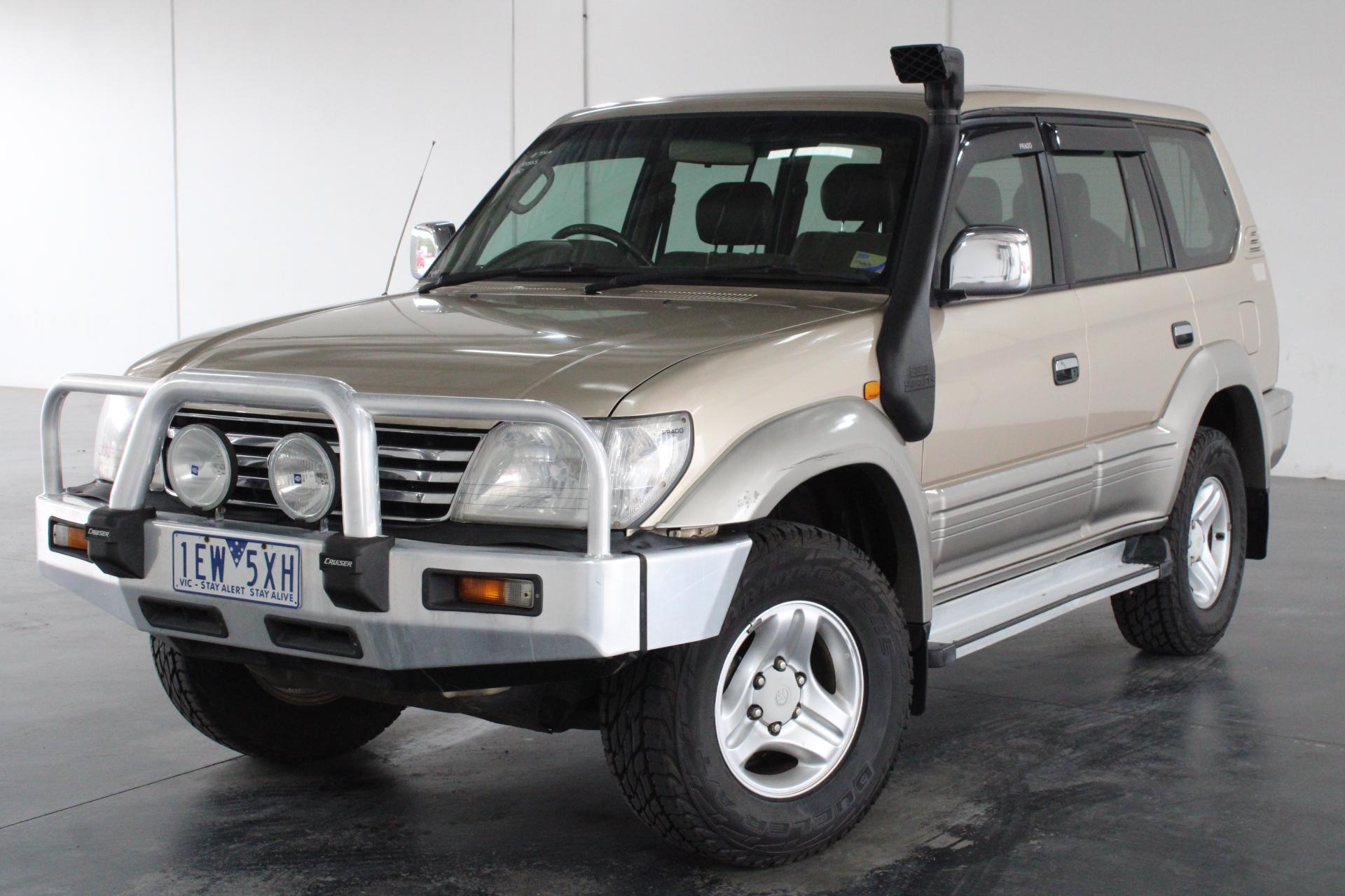 2001 Toyota Landcruiser PRADO TX 4x4 KZJ95R T/Diesel Man 8 Seats
