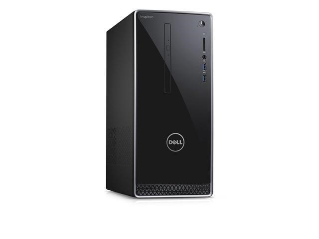 Dell Inspiron 3668 Small Form Factor (SFF) Desktop PC, Black