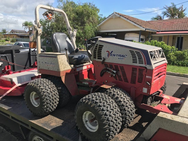 Ventrac 4500p all-wheel drive articulating tractor