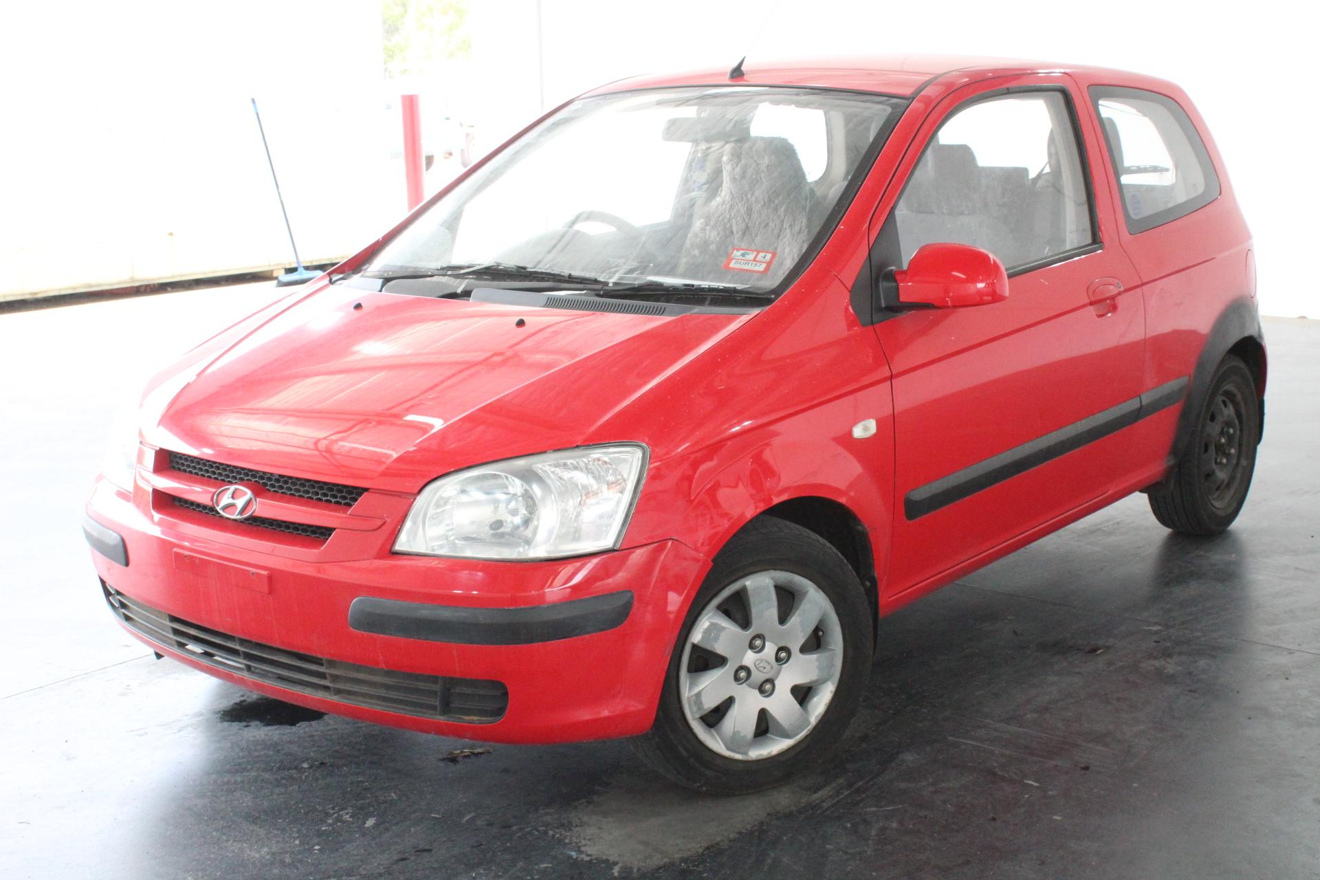 2004 Hyundai Getz XL TB Automatic Hatchback