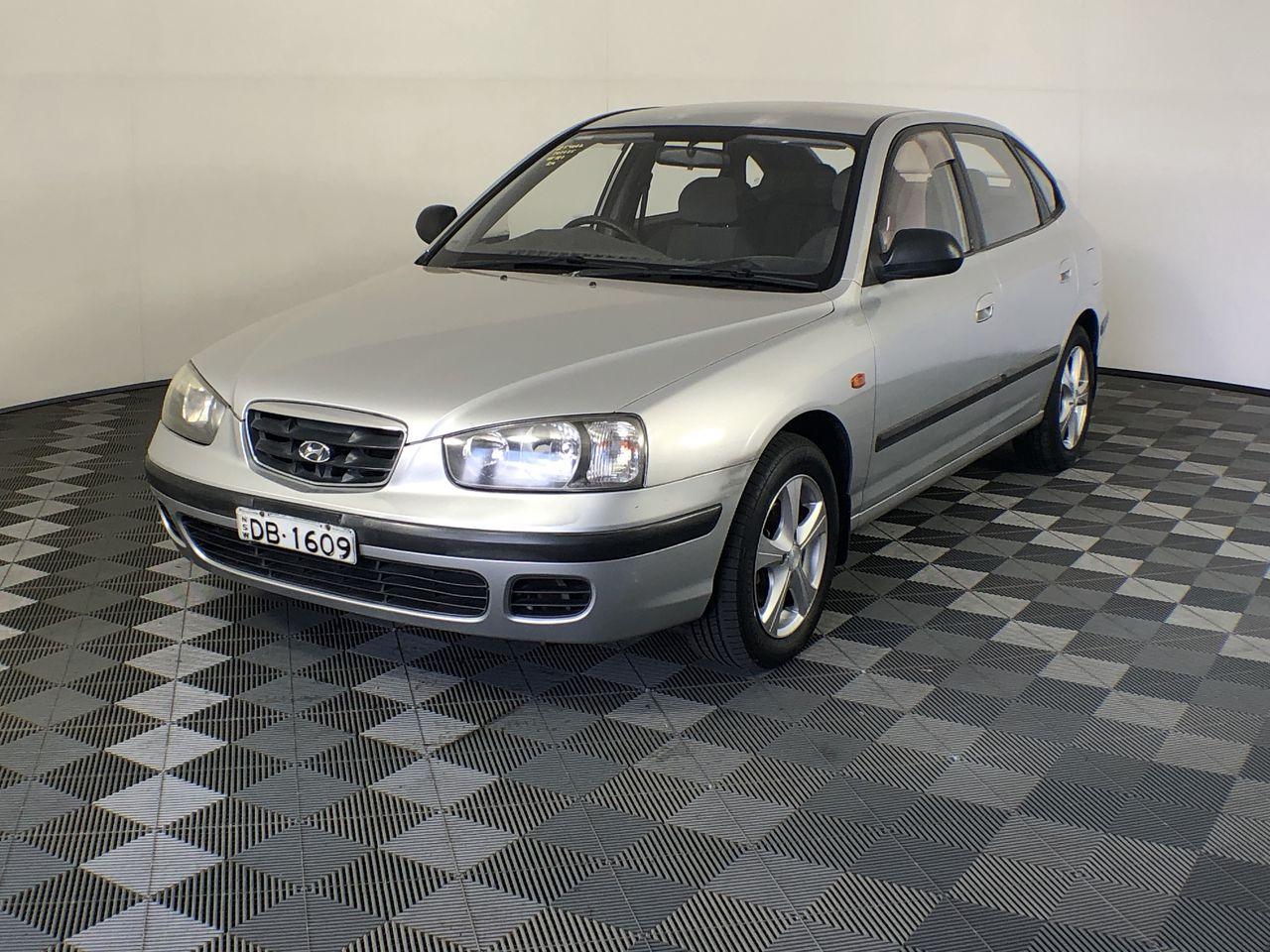 2001 Hyundai Elantra GL XD Automatic Hatchback