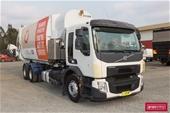 2016 Volvo FE300 Dual Control Side Load Garbage Compactors