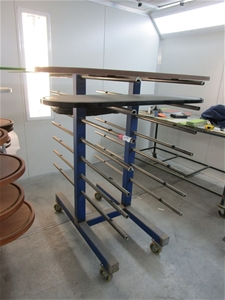 Steel Fabricated Double Sided Trolley Ra