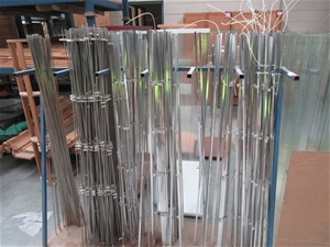 Steel Fabricated Rack and Contents