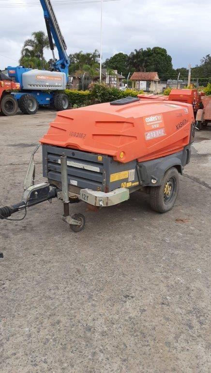 Compressor 185CFM (Diesel) - 2009 ATLAS COPCO XAS185PE