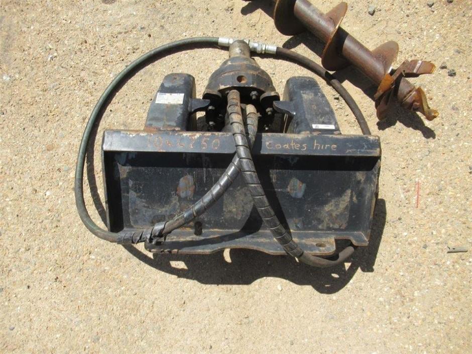 Mini Loader - Post Hole Boring Attachment - Drive unit - Dingo
