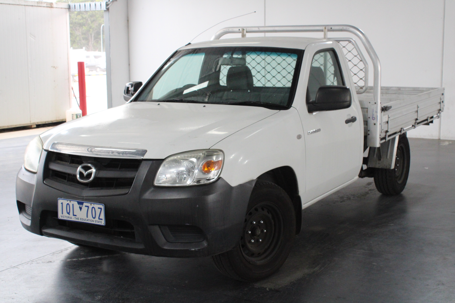 2011 Mazda BT-50 DX B2500 Turbo Diesel Manual Cab Chassis