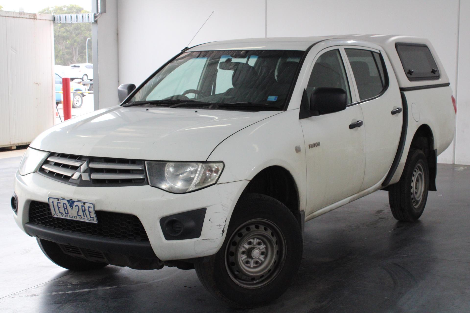 2011 Mitsubishi Triton 4X2 GLX MN Turbo Diesel Automatic Dual Cab