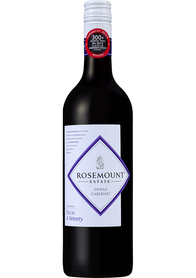 Rosemount Blends Shiraz Cabernet 2018 (6x 750mL).TAS.