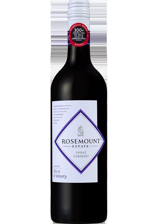 Rosemount Blends Shiraz Cabernet 2018 (6x 750mL).TAS.