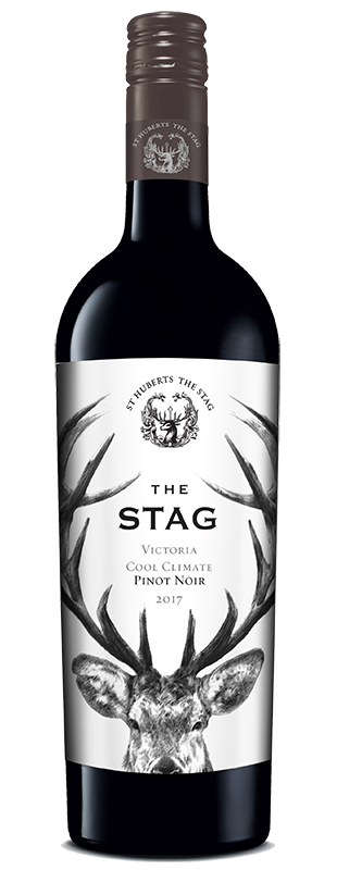 St Hubert's 'The Stag' Vic Pinot Noir 2018 (6x 750mL).TAS.