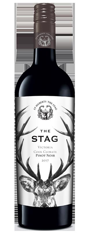 St Hubert's 'The Stag' Vic Pinot Noir 2019 (6x 750mL).TAS.