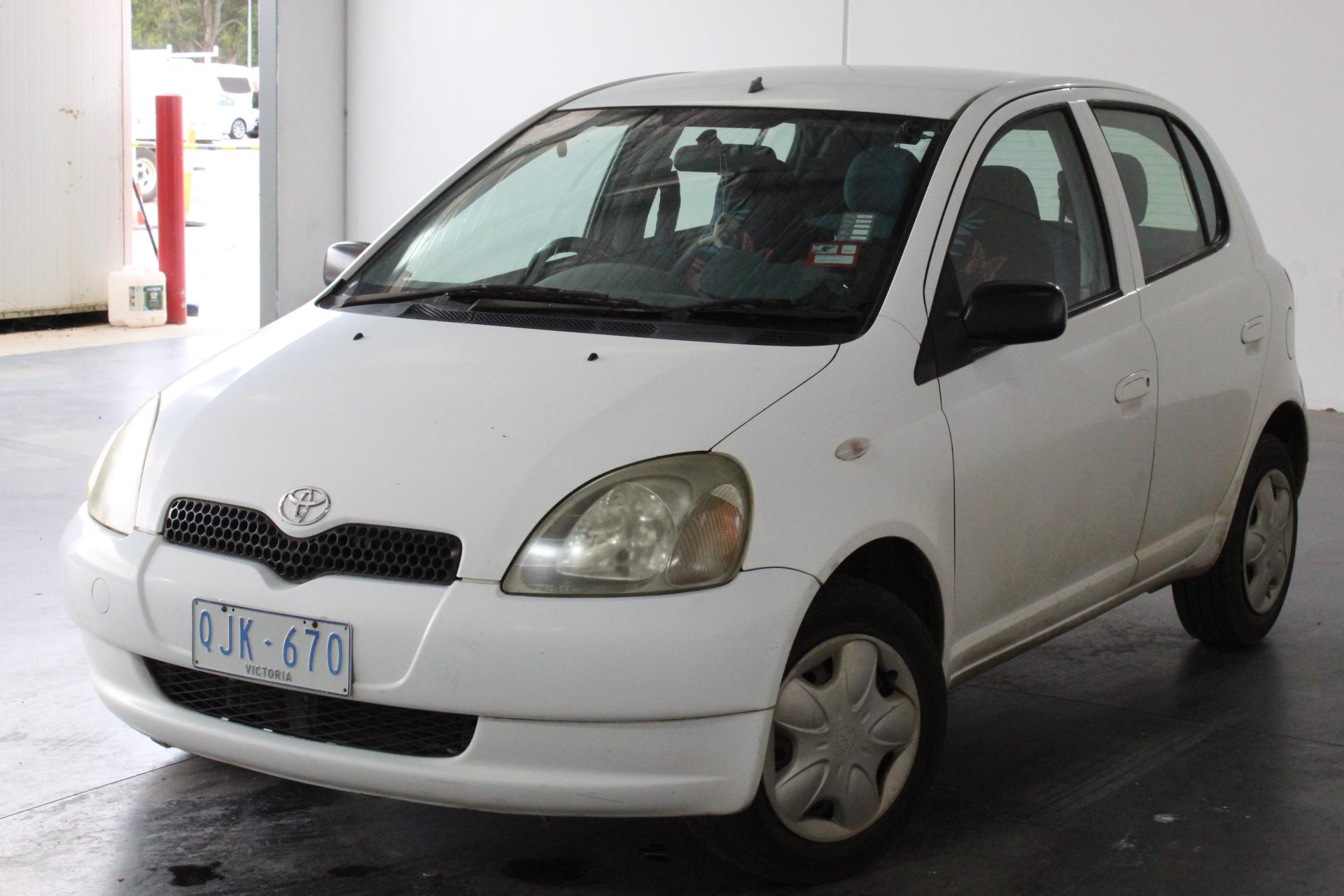 1999 Toyota Echo NCP10R Automatic Hatchback