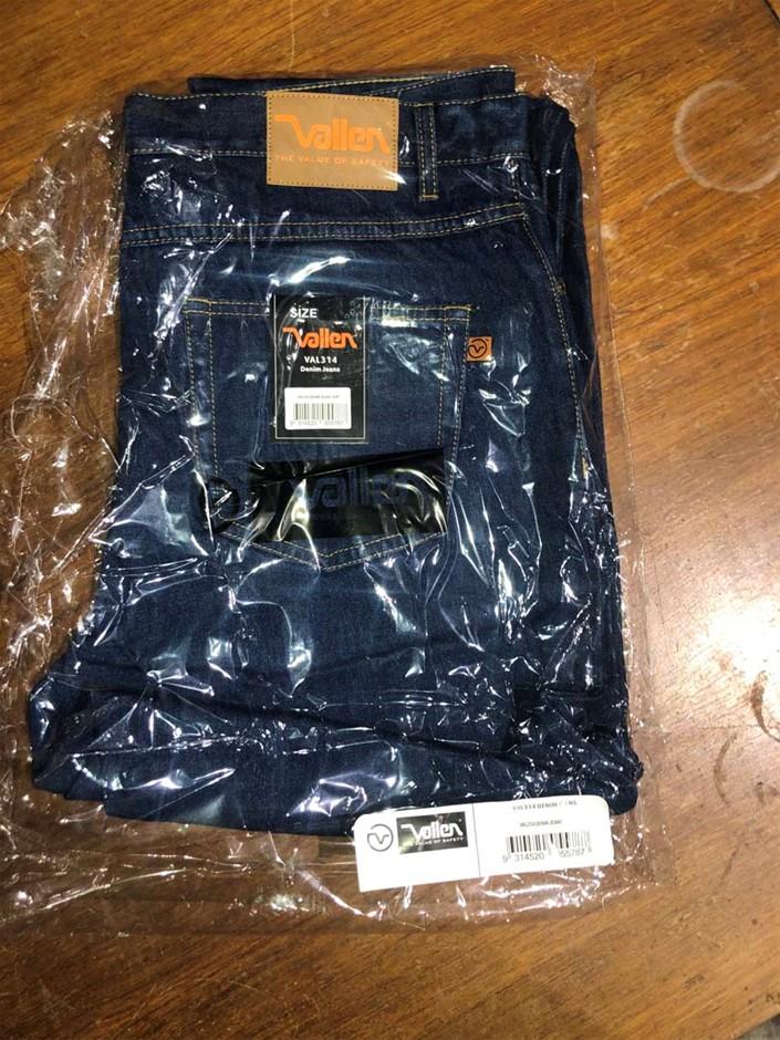 1 x Pair Heavy Duty Work Jeans, Size: 82R, Brand: Vallen