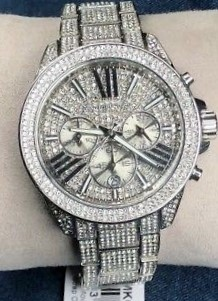 New Michael Kors Couture NY 'Wren' gemstone stunning watch.