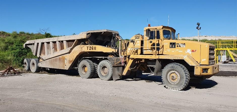 80T Challenger Off Road Dump Truck