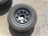 2 x 6 Stud Sunraysia Wheel Rim for Toyota tyres 245/70R16