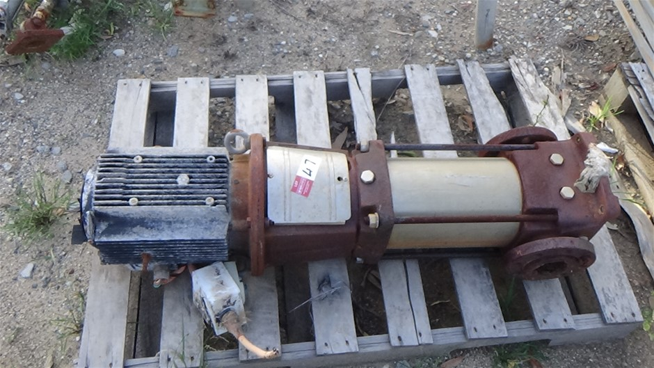 Electric pump 3 phase