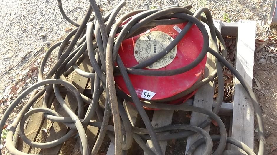Fire hose reel and hose