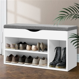 Artiss Shoe Cabinet Bench Shoes Organise