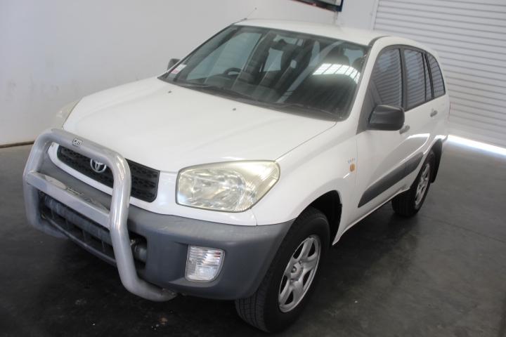 2002 Toyota Rav 4 Edge (4x4) Manual Wagon